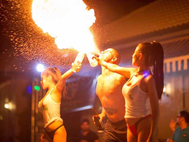 fireshow in thailand
