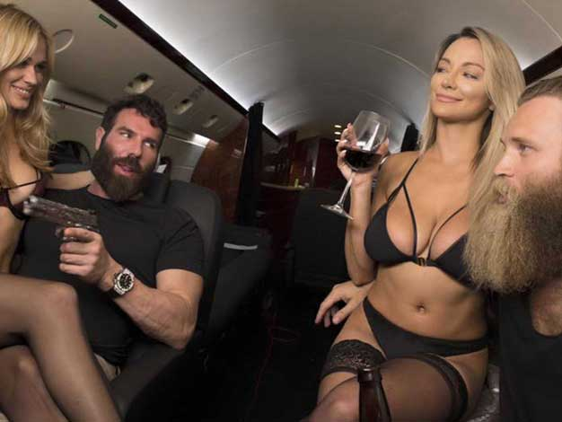 dan bilzerian package