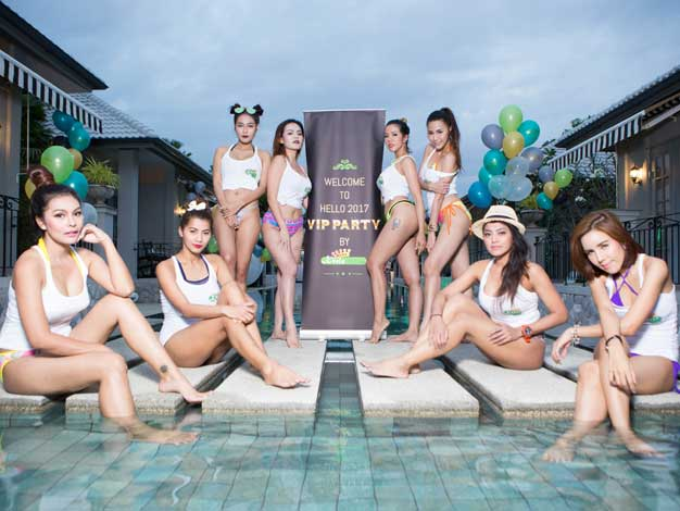 thailand party models