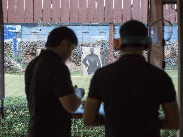 shooting range in bangkok and pattaya