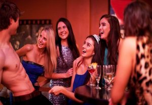 stripper bachelorette night