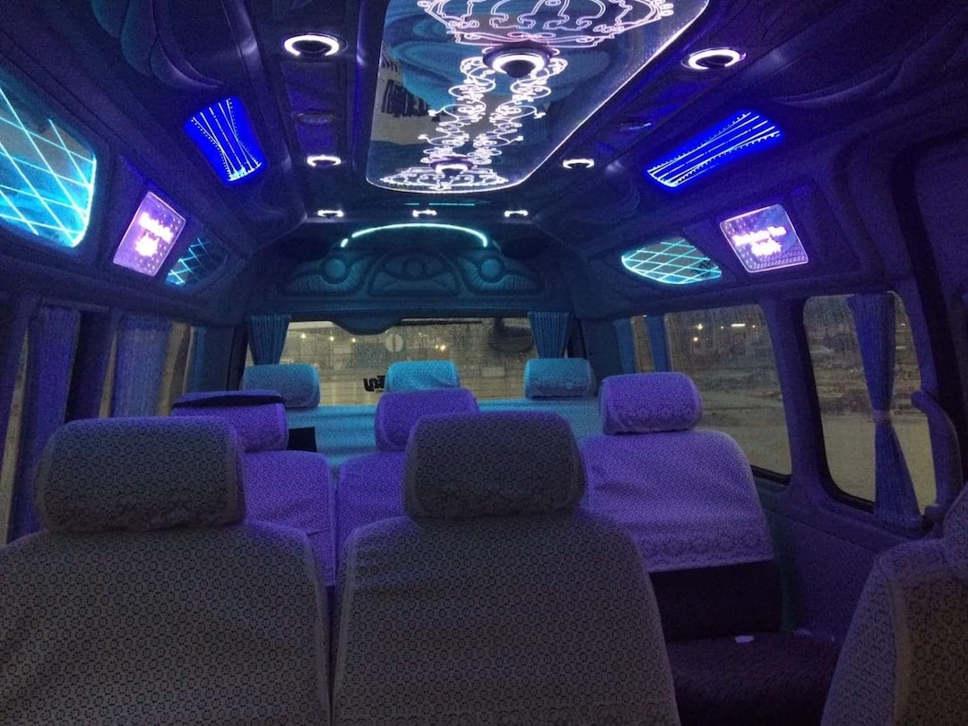 party van thailand light system