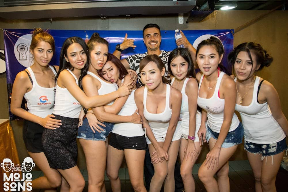 party models bangkok corporate