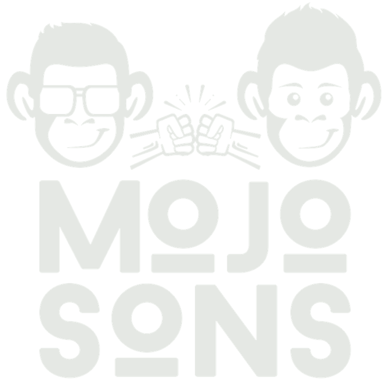 logo mojosons white