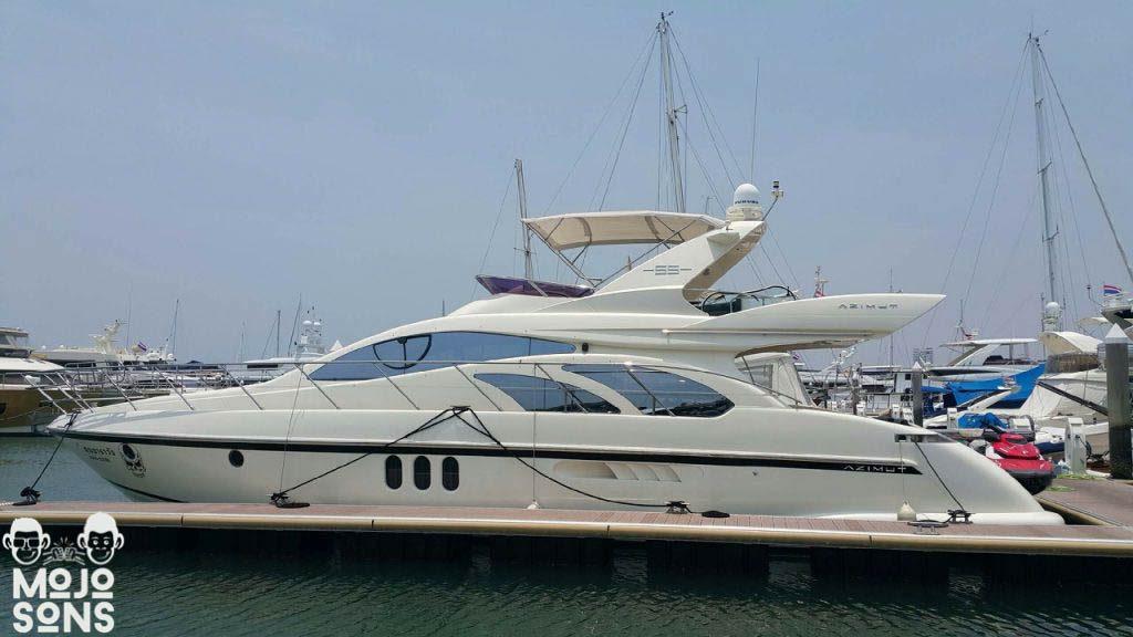 azimut 55 yacht pattaya