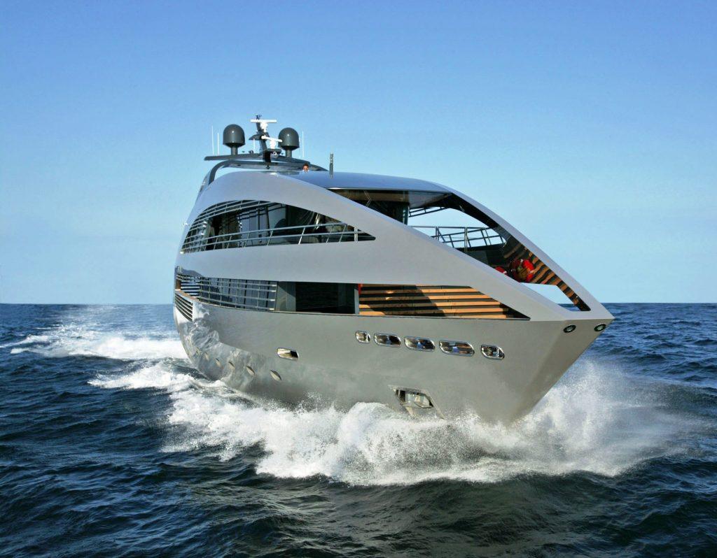 ocean emerald super yacht pattaya front